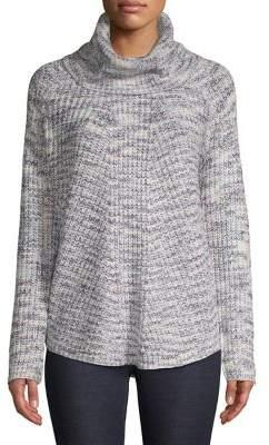 Jones New York Knit Ribbed Pullover