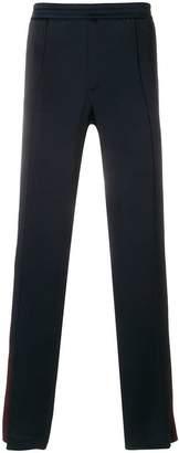Valentino stripe detail straight trousers