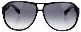 Saint LaurentYves Saint Laurent Aviator Tinted Sunglasses