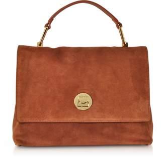 Coccinelle Medium Liya Suede Shoulder Bag