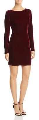 Aqua Velvet Deep-V-Back Dress - 100% Exclusive