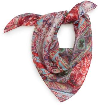 Sole Society Print Silk Neckerchief