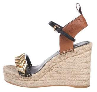 Louis Vuitton Platform Espadrille Wedges