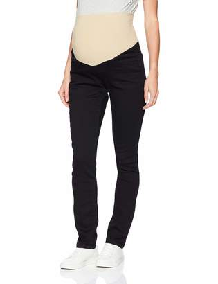 Three Seasons Maternity Women's Maternity Skinny Jean with Neutral Belly Band