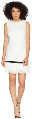 Calvin Klein Lace Hem Sheath Dress CD8C14LU Women's Dress