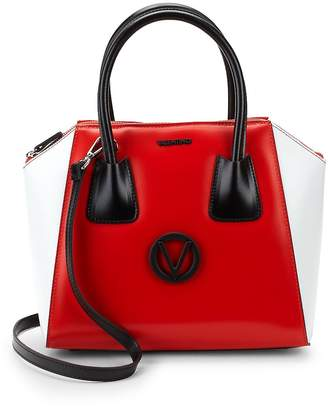 Mario Valentino Valentino by Women's Minmi Logo Leather Satchel