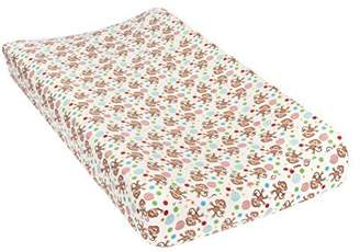 Trend Lab Monkeys Deluxe Flannel Changing Pad Cover by