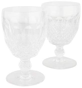 Waterford Pair of Colleen Short Stem Water Goblets