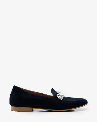 1d905590982 Womens Navy Suede Loafer Shoes - ShopStyle Canada