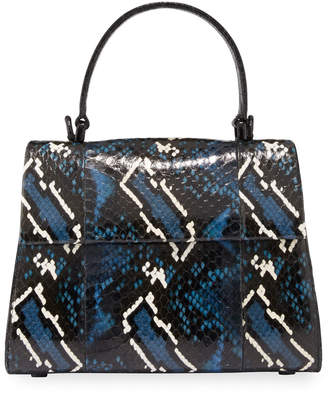 Nancy Gonzalez Lexi Small Snakeskin Top-Handle Bag