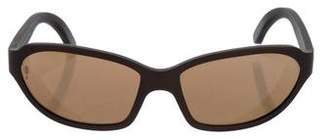 Cartier Oval Tinted Sunglasses