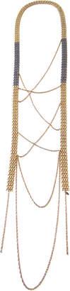 Louise Manna Threaded Fringe Necklace