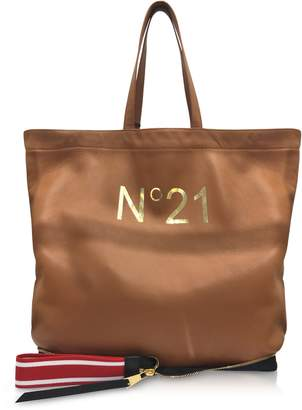 N°21 Caramel Big Foldable Shopping Bag