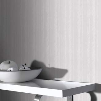 Superfresco Paintables - White Large Rope Wallpaper