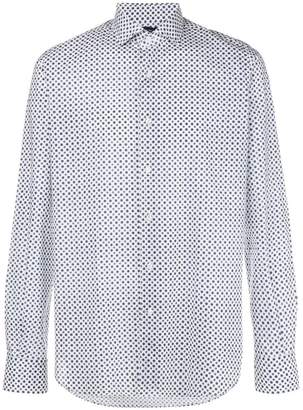 Orian micro patterned shirt