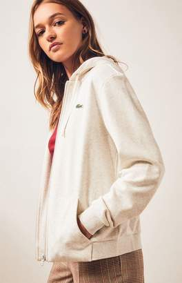 Lacoste Long Sleeve Zip Up Hoodie
