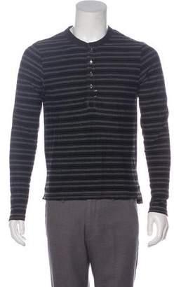 Billy Reid Stripe Long Sleeve Top