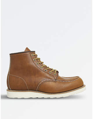 """Red Wing Shoes Work 6"""" leather boots"""