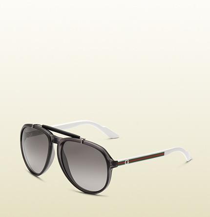 Gucci Grey Bio-Based Sunglasses