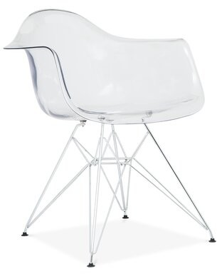 Orren Ellis Quast Modern Acrylic Dining Chair Orren Ellis
