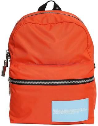 Calvin Klein Nylon Backpack W/ Lock