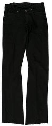 Rick Owens Low-Rise Straight-Leg Jeans