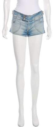 Dolce & Gabbana Low-Rise Denim Shorts