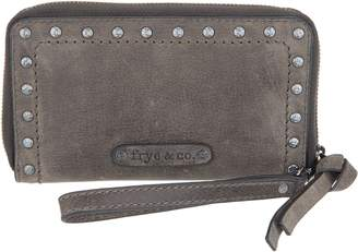 Frye & Co. & co. Leather Stud Phone Wristlet Wallet - Victoria