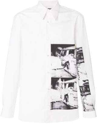 Calvin Klein x Andy Warhol Foundation Ambulance Disaster shirt