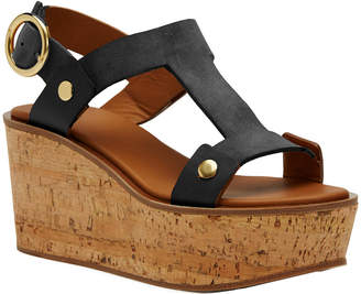 Frye Dahlia Rivet Wedge Sandal