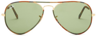 Ray-Ban Women&s Aviator Full Color Sunglasses $170 thestylecure.com