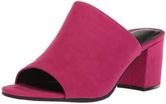 Kenneth Cole Reaction Women's Mass-ter Mind Open Toe Mule Heeled Sandal