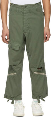 Alpha Industries 424 Green Edition Military Cargo Pants