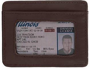 Travelon RFID Blocking Leather Cash & Card Sleeve