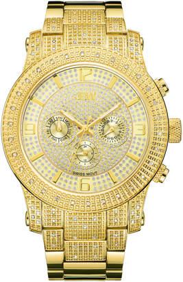 JBW J6336B Gold-Tone Lynx Diamond Watch