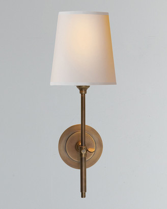 Horchow Visual Comfort Bryant Sconce with Bronze Finish