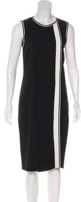 Mantu Pleated Midi Dress