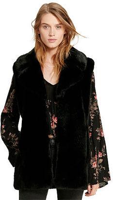 Ralph Lauren Denim & Supply Faux-Fur Vest $245 thestylecure.com