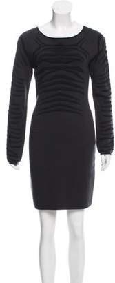 Zac Posen Long Sleeve Mini Dress