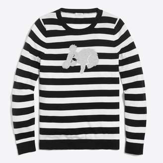 J.Crew Factory Sleepy koala Teddie sweater