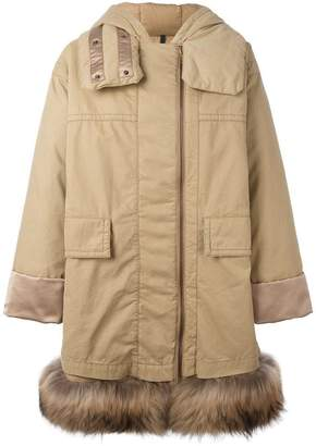 Moncler Stige hooded coat