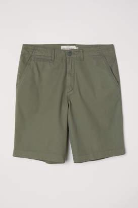 H&M Cotton Shorts - Green