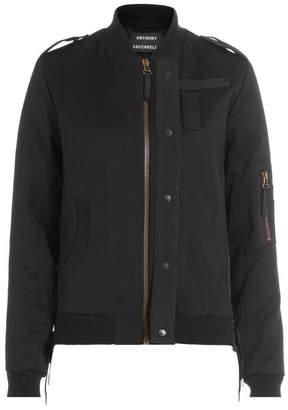 Anthony Vaccarello Wool Jacket