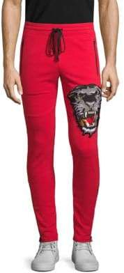 Embroidered Jogger Pants