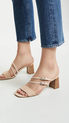 Botkier Dune Strappy Block Heel Sandals