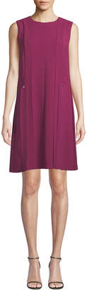 Lafayette 148 New York Zaida Sleeveless Finesse Crepe Dress