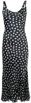 ATTICO long floral print dress