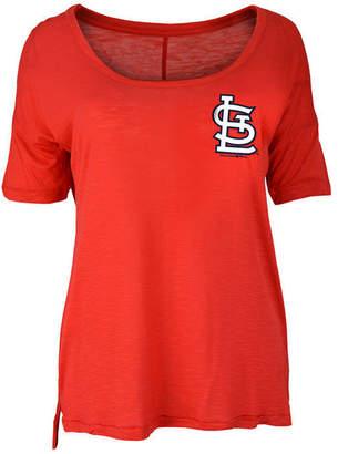 5th & Ocean Women's St. Louis Cardinals Relaxed Scoop T-Shirt