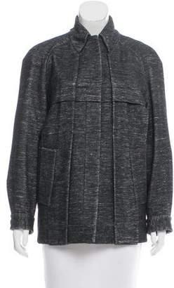 Alexander Wang Pleated Short Coat