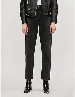 E.L.V. DENIM The Boyfriend straight high-rise jeans